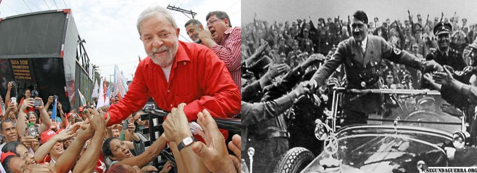 Resultado de imagem para semelhanças pt e nazismo