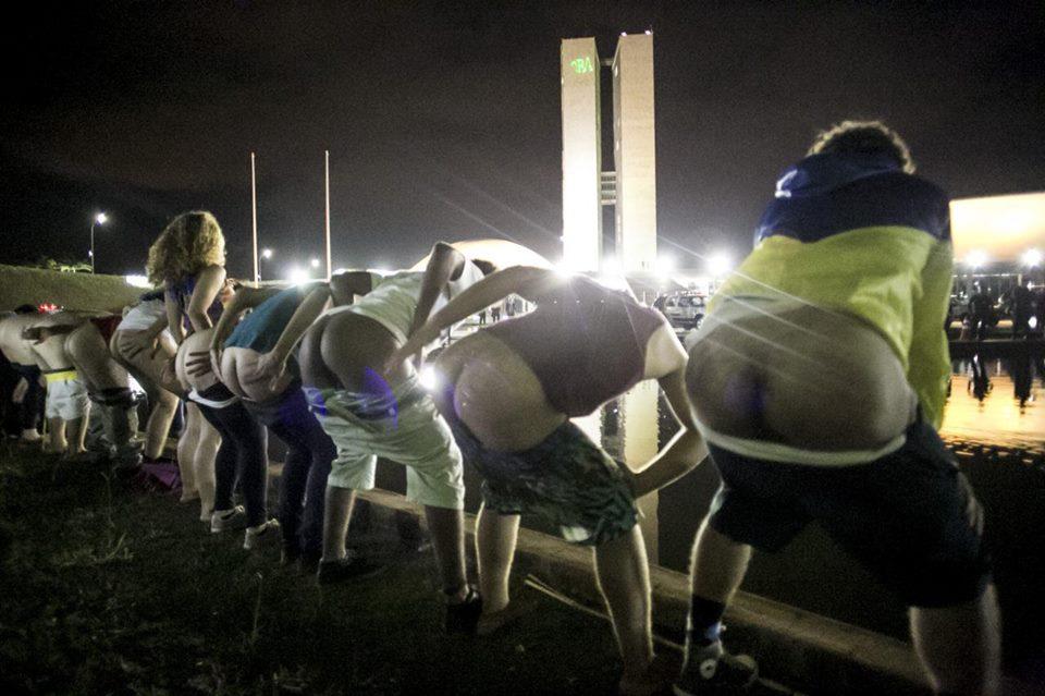 """""""Bundaço Fora Temer"""" em Brasília"""